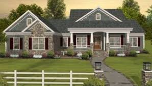 Craftsman House Plans   The House Designersimage of The Long Meadow House Plan