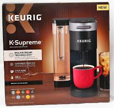 Shop for single serve coffee makers online at target. Keurig K Supreme Single Serve Coffee Maker Black Department75