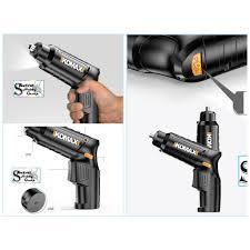 Máy khoan bắt vặn vít đa năng cầm tay 4.2V Electric screwdriver  rechargeable mini hand drill Komax - Máy khoan Thương hiệu komax