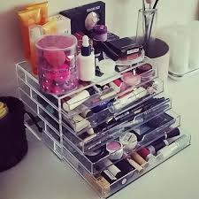 homdox cosmetic organizer 5 drawers makeup case storage holder box high quality homestyle domestic shipping