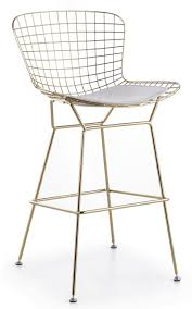Breathtaking Modern Wire Bar Stools Pictures Inspiration ...