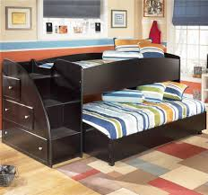 Childrens Bedroom Furniture With Storage Kids Double Bunk Bed