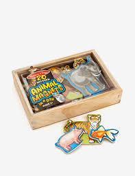 UPC 000772004756 product image for Melissa \u0026 Doug 20-pc. Wooden Animal Magnets - Magnetic Animals Set
