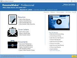 Resume Maker For Mac Magnificent Write A Better Resume ResumeMaker Individual Software