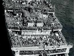 1944 ... R.M.S. Queen Mary   Queen mary ship, Queen mary, Queen mary ii