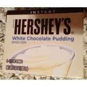 hershey white chocolate pudding.  White Hersheyu0027s White Chocolate Pudding Inside Hershey