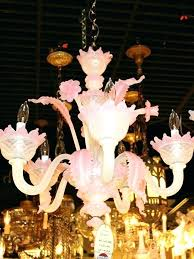 chandelier east dulwich pink glass chandelier and white vintage glass chandelier pink and white vintage glass