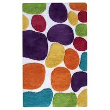 inspirational bright multi colored bath rugs