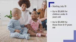 Monthly advance child tax credit ...