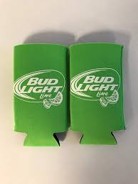 Does Bud Light Lime Come In Cans Bud Light Lime Lime Green Iconic Design Beer Can Cooler 2 Pk