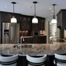 River Gold Granite contemporary-kitchen