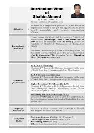 Luxury Resume Format For Banking Jobs In Bangladesh Illustration ...