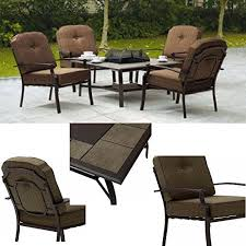 efd fire pit table set with chairs 5
