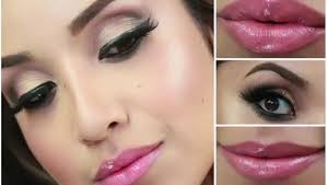 glam smokey brown eyes full face makeup tutorial by dulce candy dailymotion