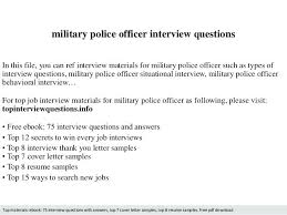 Military Police Officer Job Description Police Officer Jobs ...