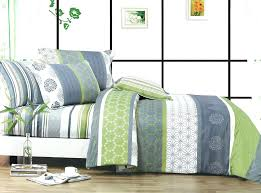 green and white duvet cover total fab lime green and grey bedding sets