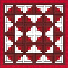 Log Cabin Quilt is One of the Easiest Quilt Blocks to Construct. & Log Cabin Quilt Adamdwight.com
