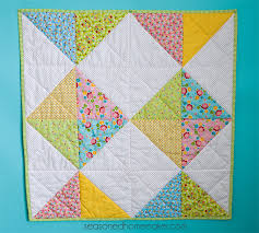 Baby Quilt Patterns Beauteous A Simple Baby Quilt That Anyone Can Make