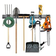 24 in wall tool storage rack organizer