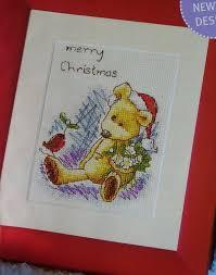 Christmas Cross Stitch Charts Newtons Law Bear Merry Christmas Cross Stitch Chart