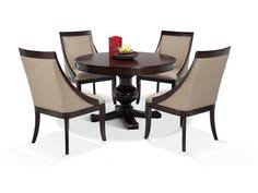 gatsby round 5 piece dining set with swoop chairs dining room setsdining room chairs5