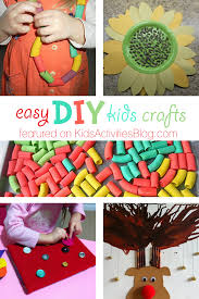 easy diys to do at home 5 diy kids crafts simple things design 4