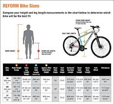 Dual Sport Seat Height Chart Mongoose Reform Comp 700c Wheel Dual Sport Bicycle Charcoal