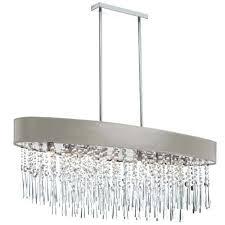 oval crystal chandelier 8 light oval crystal chandelier polished chrome pebble cassiel oval crystal drop chandelier