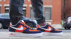 denver broncos shoes. elegant shoes denver broncos custom hand painted sneakers - nike air force 1s u917604981 u