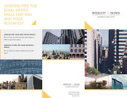 Real Estate Brochure Template Free Commercial Real Estate Brochure Template Real Estate