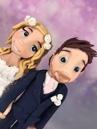 Bride And Groom Cake Topper Personalised Wedding Cake Topper