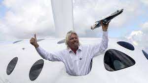 Richard Branson gaat deze zomer zelf de ...