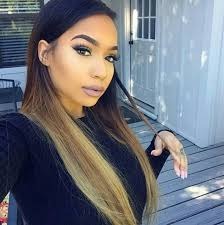 Black Weave Hairstyles 35 Inspiration Follow ✻ Bagalronnie ✻ Har Pinterest Makeup Hair Coloring
