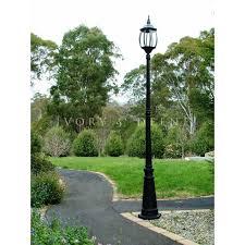 victorian outdoor lighting garden lamp post black