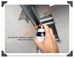 squeaky garage doorGarage Door Rails Lubrication  Wageuzi
