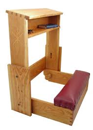 How To Build A Prayer Kneeler By Ehowcom  Wood Projects Anglican Prayer Bench