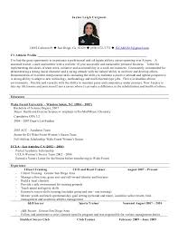 Soccer Resume Samples - Kleo.beachfix.co