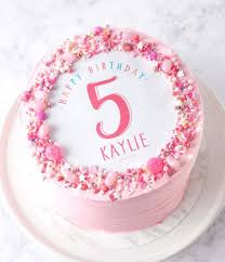 Birthday Name Number Personalised Cakes Personalised Cakes The