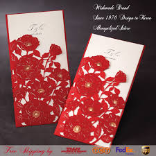 bulk birthday invitations luxurious lace fl wedding invitations 3d red birthday