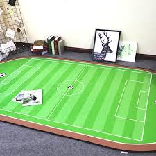 modern football field rug perfect aliexpress e piece floor mat football field washable than fresh