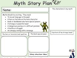 How To Plan A Story Template Greek Myth Story Planning Template For Pupils To Use To Plan Their Own Mythological Writing