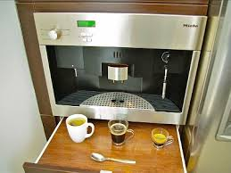 built in espresso maker