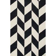 katte black and white 8 ft 6 in x 11 ft 6 in