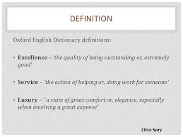 Definition Of Good Customer Services Delivering Excellent Customer Service For A Luxury Brand