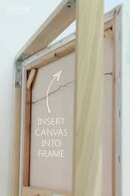 how to make a diy canvas picture frame for under 10 diy canvas bunny and canvases