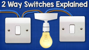 How To Wire A 2 Way Light Switch Two Way Switching Explained How To Wire 2 Way Light Switch