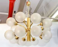 frosted glass chandelier shades