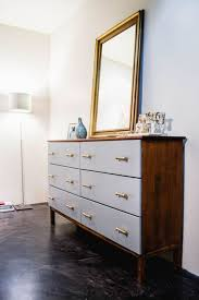 diy modern ikea tarva hack. Light Blue Tarva Dresser With Elegant Handles Diy Modern Ikea Tarva Hack