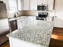 Dallas White Ashen White Granite Countertops By Heartland
