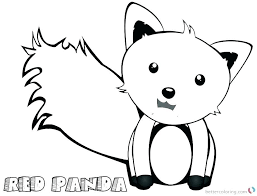 Printable Combo Panda Coloring Pages